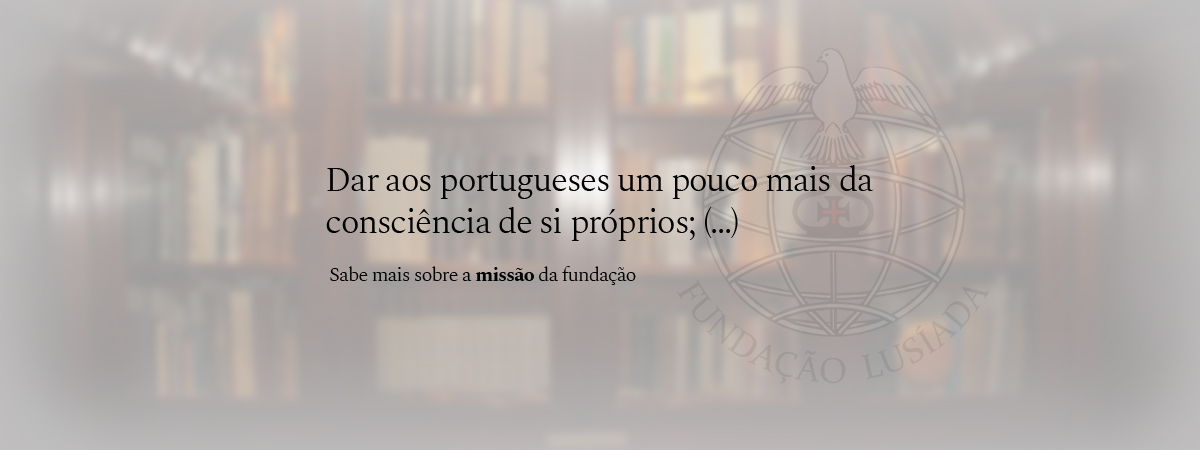 Dar aos portugueses um pouco mais da consciência de si próprios